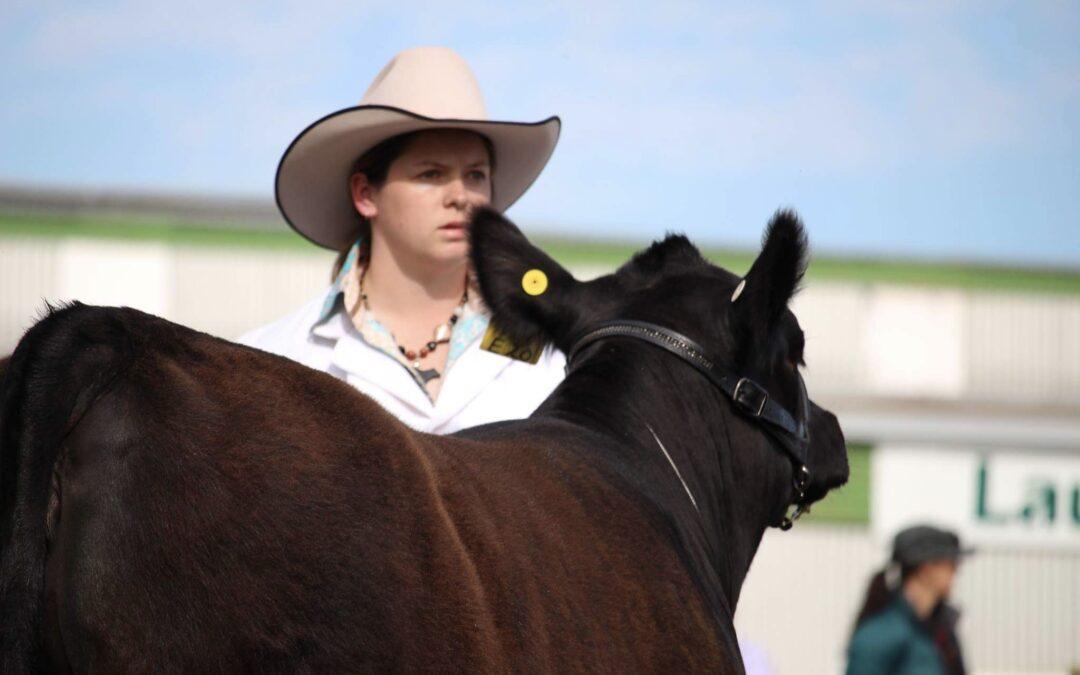 Meet Young Beef Cattle Judge Alice Hall (TAS)