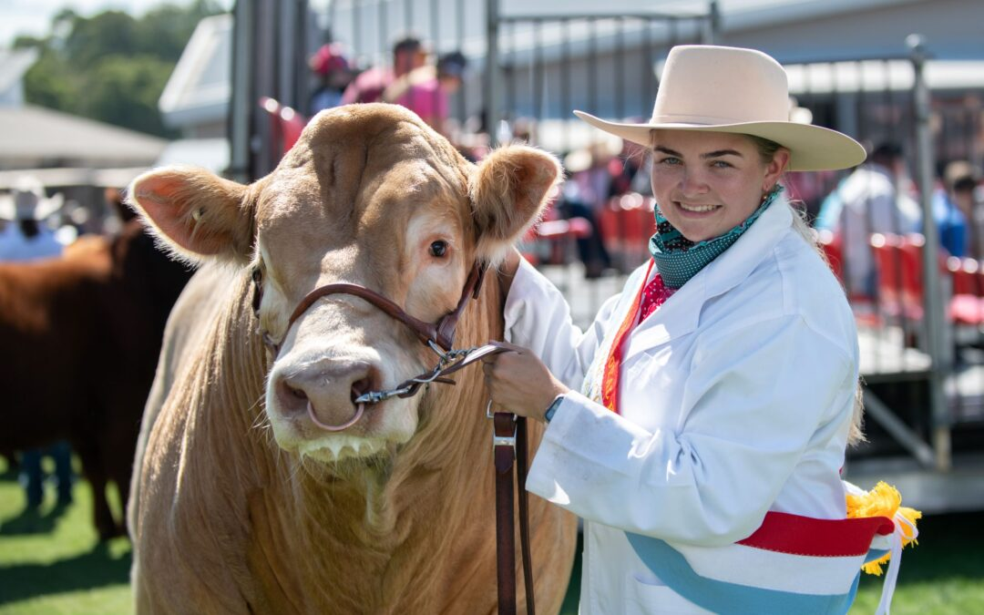 Meet Young Beef Cattle Parader Tayla Miller (NSW)