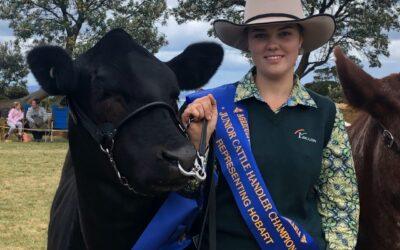 Meet Young Beef Cattle Parader Demi Bird (TAS)