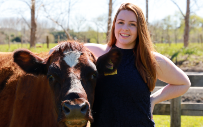 Meet Young Beef and Dairy Cattle Judge Courtney Davies (NZ)