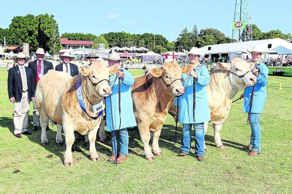 Meet Young Beef Cattle Parader Rachel Williams (WA)