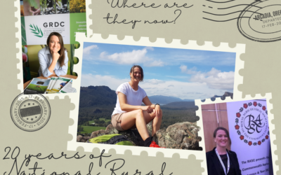 Where are they now? A catch up with 2014 National Rural Ambassador Courtney Ramsey