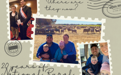 Where are they now? A catch up with 2014 National Rural Ambassador Jeremy Schutz