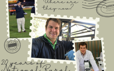 Where are they now? A catch up with 2017 National Rural Ambassador Justin Matthews