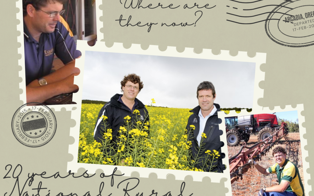 Where are they now? A catch up with 2001 National Rural Ambassador Karl Suckling