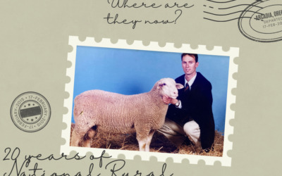 Where are they now? A catch up with 2001 National Rural Ambassador Peter Angus