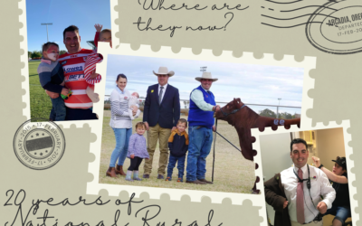 Where are they now? A catch up with 2015 National Rural Ambassador Samuel Martin
