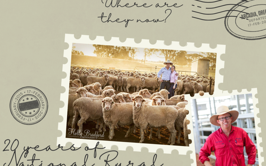 Where are they now? A catch up with 2008 National Rural Ambassador Tim Robinson