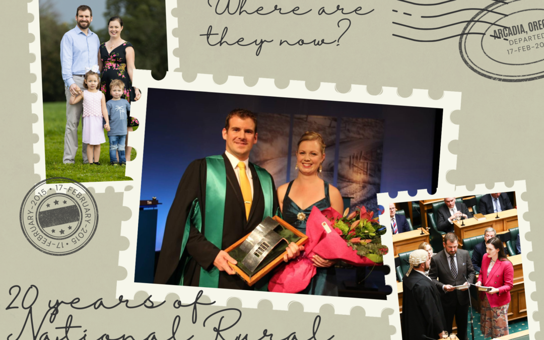 Where are they now? A catch up with 2012 National Rural Ambassador Tim van de Molen